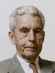 Der Textilunternehmer Max Kriemler ist im Alter von 95 Jahren verstorben. (Bild: pd)