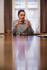 """Mathias Müller: """"Es ist nicht mehr als fair, auch im Toggenburg in die Kultur zu investieren."""" (Bild: Mareycke Frehner)"""