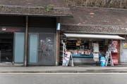 Der Kiosk bei der Bergstation der Mühleggbahn ist eine Institution. Er schliesst Ende Woche. (Bild: Sabrina Stübi)