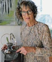 Ruth Rüegg lädt in ihr Atelier in Halden ein. (Bild: Georg Stelzner)