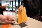Auch diesen Sonntag ist die Abstimmungsurne im St.Galler Rathaus von 10 bis 12 Uhr geöffnet. (Bild: Ralph Ribi)