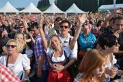 Vor 2016 wurde das Schlager-Open-Air in Flumserberg durchgeführt. (Bild: Ralph Ribi)