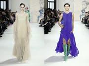 Das St.Galler Modelabel Akris zeigt seine aktuelle Herbst-Winter-Kollektion an der Pariser Modewoche. (Bild: Akris)