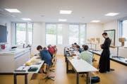 Die erzkatholische Priesterbruderschaft St. Pius X. führt im Kanton St. Gallen drei Privatschulen. (Bild: Urs Bucher (Wangs, 12. Mai 2017))