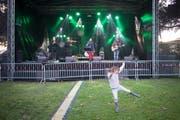 Das Weihern-Festival startete am Donnerstagabend gemütlich.. (Bild: Benjamin Manser)