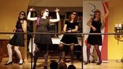 Das Zürcher A-cappella-Quartett Dezibelles am Rorschacher Festival. (Bild: Corina Tobler)