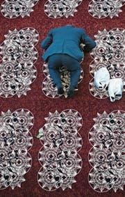 Blick in die Moschee in Wil. (Bild: Benjamin Manser)