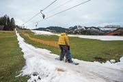 Skilift beim Oberdorf in Wildhaus. (Bild: Urs Bucher)