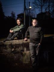 Lorenz Niederer (rechts) hat mit Alessandro Cappilli ein tolles Album aufgenommen. (Bild: Benjamin Manser)