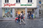 Das Spielwarengeschäft Zollibolli ist seit 1872 im Gebäude am Bärenplatz zuhause. (Bild: Benjamin Manser)