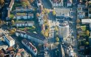 Grosses Quartier, grösster Quartierverein: Ein Viertel der Stadtbevölkerung lebt im Gebiet St. Fiden-Neudorf. (Bild: Urs Bucher)
