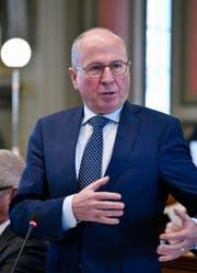 Der St.Galler Regierungspräsident Fredy Fässler. (Bild: Regina Kühne)