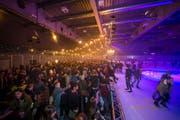 Die Eisdisco St.Gallen zog in den vergangenen Jahren jeweils rund 1000 Personen in die Eishalle Lerchenfeld. (Bild: PD/Marcello Engi)