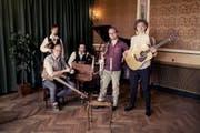 Das dänische Folk-Quintett Mads Hansens Kapel bringt jeden Saal zum Tanzen. (Bild: PD)