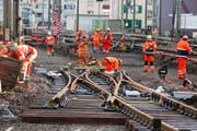 Für die verkehrstechnische Anbindung der Ostschweiz fehlen entscheidende Minuten: Noch ist hier nicht einmal das Konzept von Bahn 2000 vollständig umgesetzt. (Symbolbild) (Bild: SALVATORE DI NOLFI (KEYSTONE))