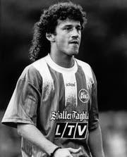 Adrian Allenspach spielte von 1987 bis 1991 und von 1996 bis 1997 beim FCSG. (Bild: Archiv St. Galler Tagblatt)