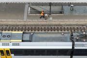 Beim Bahnhof Rorschach soll dank dem Aggloprogramm eine Gleisquerung realisiert werden. (Bild: Benjamin Manser/Archiv)