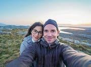 Stephanie Bernhard und Stefan Tschumi lieben es, zu reisen und zu fotografieren. Wie hier im norwegischen Sveggen. (Bild: PD)