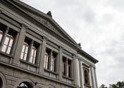 Aussen top, innen flop: Das Kunstmuseum soll 2019 für 19 Millionen Franken umgebaut werden. (Bild: Mareycke Frehner)
