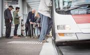 Immer weniger Personen nutzen das Angebot der Verkehrsbetriebe St. Gallen. (Bild: Jil Lohse)