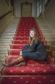 Die Basler Komponistin Helena Winkelman. (Bild: Urs Bucher (St. Gallen, 24.Oktober 2016))