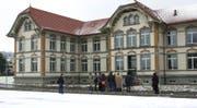 Auf dem Areal der psychiatrischen Klinik Wil soll ein eingeschossiges Gebäude mit 16 Betten für psychisch kranke Häftlinge entstehen. (Bild: REGINA KUEHNE (KEYSTONE))