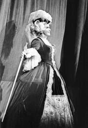 Leben im Rampenlicht: Lisa Della Casa feiert 1973 im Opernhaus Zürich ihr 30-Jahr-Bühnenjubiläum. (Bild: ky)
