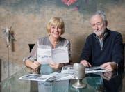 Ruth Widmer und Urs Hertler haben sich 25 Jahre lang fürs Hilfswerk «St. Georgen hilft Albanien» engagiert. (Bild: Urs Bucher)