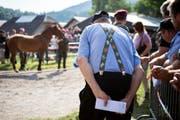 Die Thurgauer Behörden prüfen eine weitere Auktion der Pferde vom umstrittenen Hof in Hefenhofen. (Bild: ANTHONY ANEX (KEYSTONE))