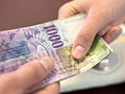 Die FDP und die SVP fordern den Kanton St.Gallen auf, die Steuern zu senken. (Bild: KEYSTONE/MARTIN RUETSCHI)