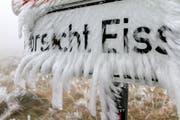 Zunächst wird es laut Meteorologen zwar noch etwas wärmer in der Ostschweiz. Am kommenden Wochenende herrscht dann aber ungemütliches Wetter. (Symbolbild) (Bild: MATTHIAS BEIN (EPA))