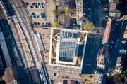 Die Fachhochschule in St.Gallen. (Bild: Urs Bucher)