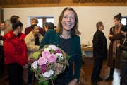 Sonja Lüthi gewinnt mit 3130 Stimmen Vorsprung. (Bild: (Ralph Ribi))