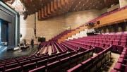 Zuschauerraum des Theaters St. Gallen: Die Sanierung bringe keinen «Wow-Effekt», bedauert die SVP. (Bild: Ralph Ribi)