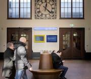 Die Arbeiten in der Bahnhofhalle sind inzwischen abgeschlossen. (Bild: Michel Canonica)