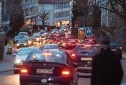 «Unsere Verkehrsinfrastruktur ist veraltet»: Die FDP hat Ideen für die Mobilität der Zukunft. (Bild: Benjamin Manser (St. Gallen, 8. Februar 2016))