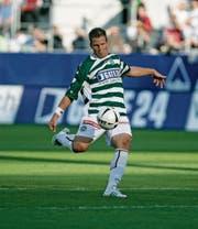 In 167 Spielen für den FC St. Gallen erzielte Moreno Merenda 64 Tore. (Bild: Reto Martin (30. August 2008))