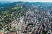 Der Stadtrat will die Stadt St. Gallen als Zentrum der Ostschweiz stärken. (Bild: Reto Martin (7. August 2015))