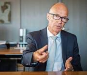 Thomas Scheitlin: «Wir müssen die derzeitigen Standards bei städtischen Bauten hinterfragen.» (Bild: Urs Bucher)