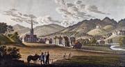 Die Pfaffenwiese in Wattwil: Hier erklärten sich die Toggenburger an der Landsgemeinde im Juni 1530 zum «Freistaat». (Bild: Toggenburger Museum Lichtensteig)