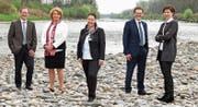 Der Thurgauer Regierungsrat präsentiert sich in der laufenden Legislatur mit einer 3:2-Frauenmehrheit. (Bild: Kirsten Oertle)
