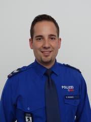 Dionys Widmer, Sprecher der Stadtpolizei St.Gallen. (Bild: Stapo SG)