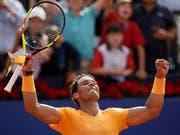 Rafael Nadal ist auf Sand nicht zu stoppen (Bild: KEYSTONE/AP/MANU FERNANDEZ)