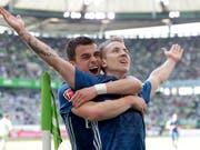 Der Hamburger SV darf weiter auf den Klassenerhalt hoffen (Bild: KEYSTONE/AP/MICHAEL SOHN)