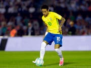 Soll rechtzeitig für das WM-Auftaktspiel am 17. Juni gegen die Schweiz wieder fit sein: Brasiliens Superstar Neymar (Bild: KEYSTONE/AP/MATILDE CAMPODONICO)