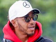 Lewis Hamilton hatte in Baku alles Glück auf seiner Seite (Bild: KEYSTONE/EPA/DIEGO AZUBEL)