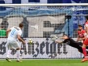 Michael Frey war der Mann des Spiels beim 3:3 zwischen Zürich und Sion und erzielte drei Treffer (Bild: KEYSTONE/WALTER BIERI)