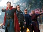 """Der Film """"Avengers: Infinity War"""" lockt viele Zuschauer in die Kinos. (Bild: KEYSTONE/AP Disney-Marvel/CHUCK ZLOTNICK)"""
