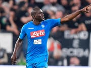 Kalidou Koulibaly sah in Florenz in der Startphase die Rote Karte (Bild: KEYSTONE/AP ANSA/ALESSANDRO DI MARCO)
