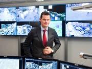 Hält Cyberangriffe für die grösste Gefahr in der Schweiz: Pierre Maudet, Präsident der kantonalen Polizeidirektoren. (Bild: KEYSTONE/JEAN-CHRISTOPHE BOTT)